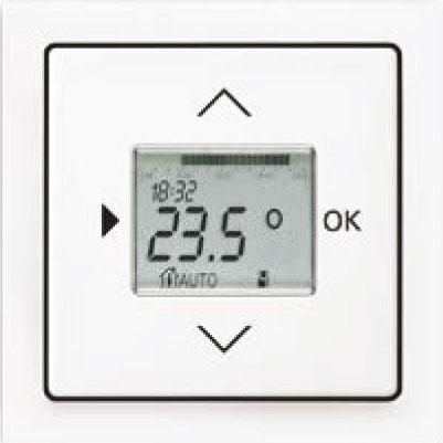 Termostat priestorový/podlahový s týždennými spínacími hodinami