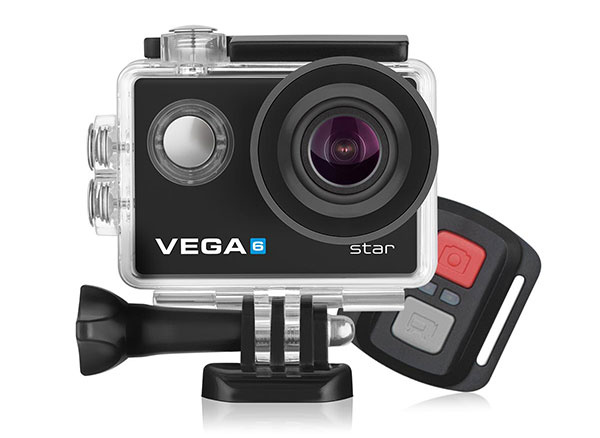 1× Akčná kamera  Niceboy VEGA 6 star