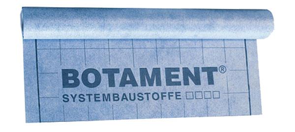 BOTAMENT AE izolačná adeliaca fólia má univerzálne použitie ako spojená izolačná vrstva pod keramický obklad či prírodný kameň vinteriéri aj exteriéri. Možno ju využiť na vytvorenie izolácie na stenách aj podlahách aje vhodná ina miesta silno namáhané vodou spolu schemickým zaťažením.