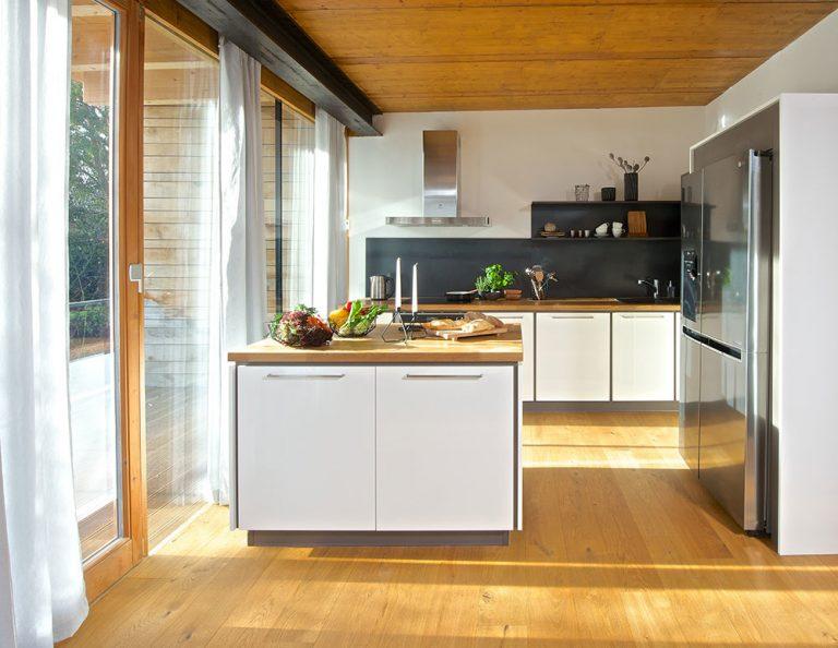Sila spojenia prírody a technológií v kuchyni na mieru