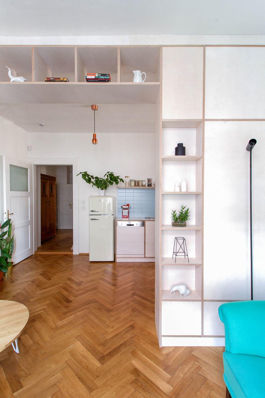 Historický byt z 30. rokov po premene: Prepojený, odľahčený, presvetlený