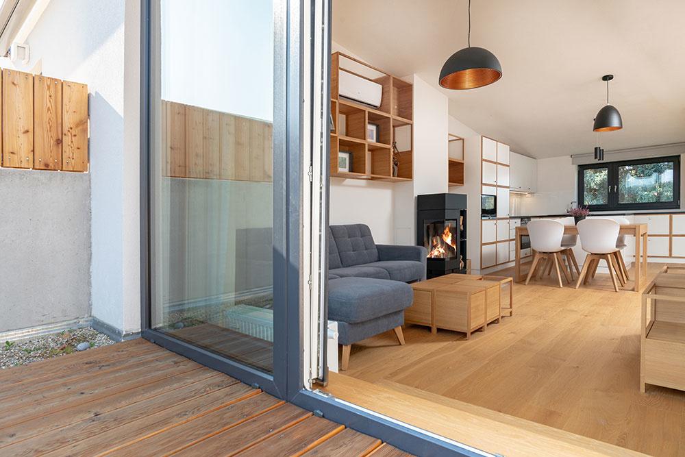 Prečo sa majitelia rozhodli rekonštruovať úplne nový byt