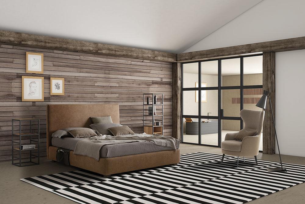 Čalúnená posteľ Illy a kreslo Dodo sú jednými z posledných noviniek firmy LeComfort, ktorá ponúka širokú škálu exkluzívnych talianskych pohoviek, postelí a kresiel.