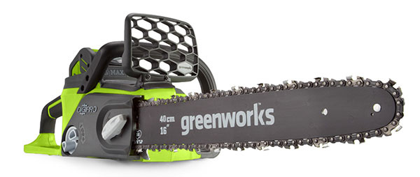 AKU reťazová píla Greenworks GD40CS40 40V
