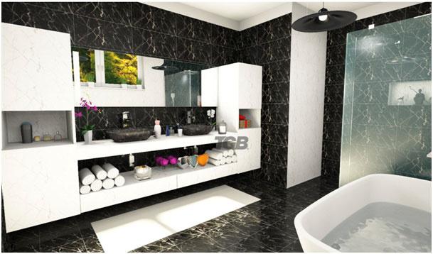 Aj extravagancia má v kúpeľni svoje miesto