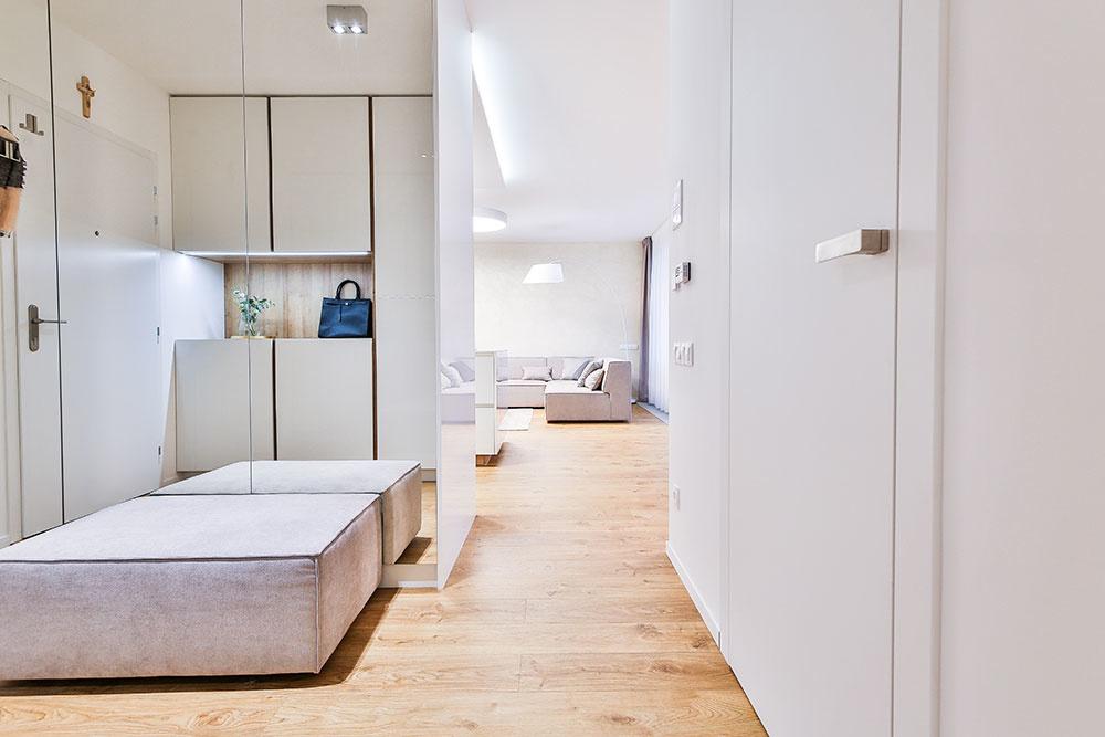 Priestranný byt v bratislavskom Novom Meste priniesol viacero výziev