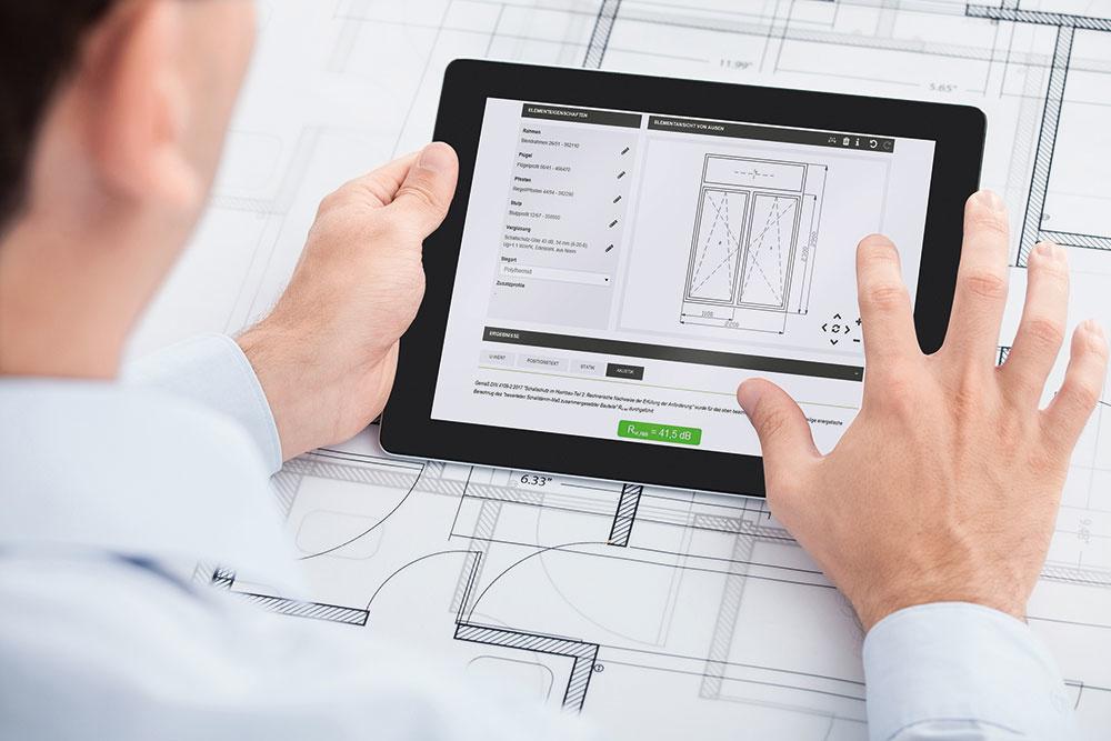Nástroje na plánovanie akustiky: Spoločnosť Schüco s aplikáciami SoundCal a Digital Acoustics Lab prináša dva nové nástroje na určenie efektu znižovania hluku okenných a fasádnych jednotiek.
