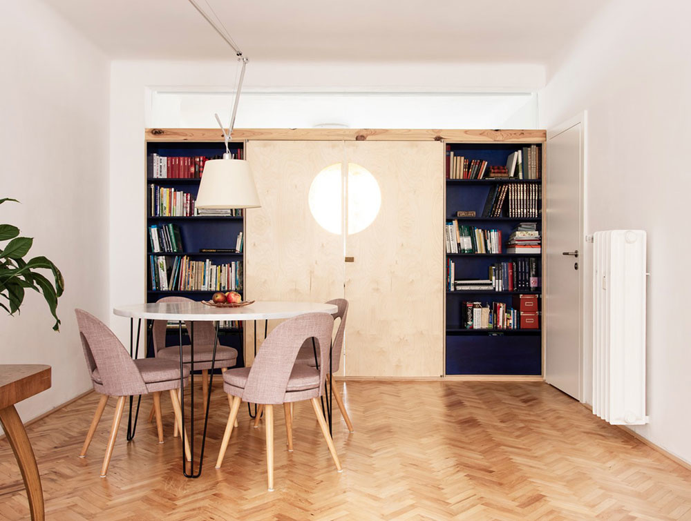 Súťaž Interiér roku: Byt pre štvorčlennú rodinu v pražskom činžiaku