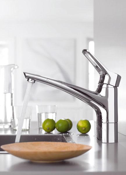 Voda v kuchyni
