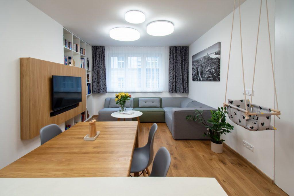 Súťaž Interiér roku: Ako urobiť z 3+1 bytu otvorený 4+1 byt