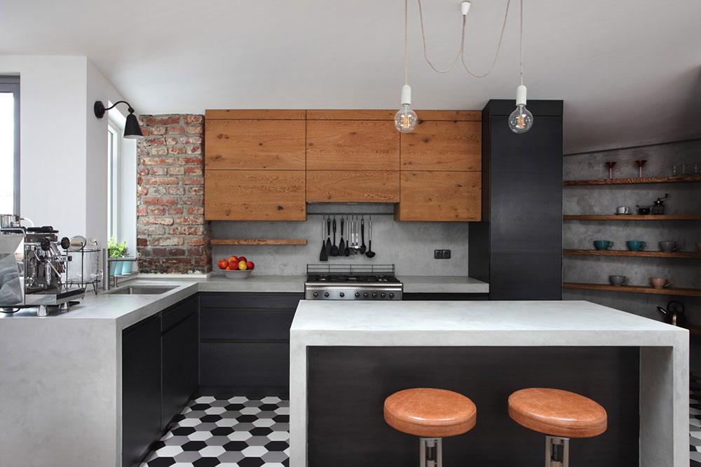 Súťaž Interiér roku: Podkrovný byt so vzdušným interiérom a s množstvom svetla