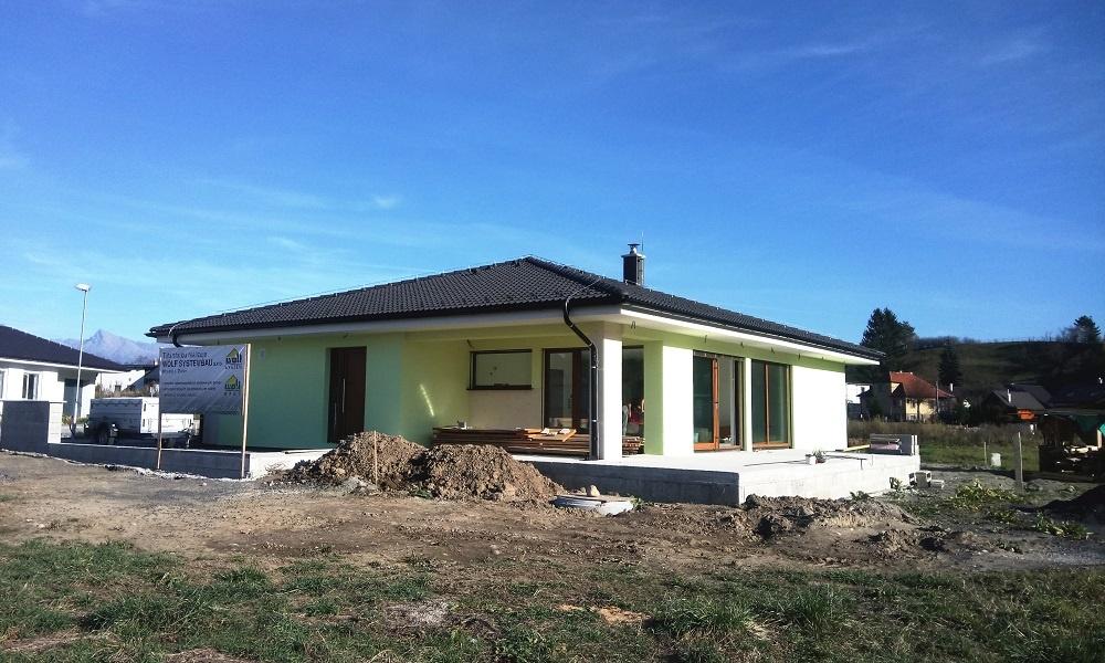 Individuálny projekt – bungalov Dovalovo