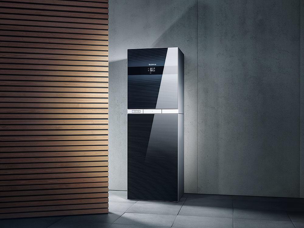 Moderný kondenzačný kotol Logamax plus GB192iT vykúri priestory azabezpečí teplú vodu súčinnosťou až 94%. Vďaka najmodernejšej kondenzačnej technike amodulačnému výkonu, teda výkonu plynulo prispôsobovanému skutočnej potrebe tepla, spotrebuje výrazne menej plynu ako bežné plynové kondenzačné zariadenia. Umožňuje tiež začlenenie obnoviteľných zdrojov energie (napríklad solárnej), čím sa náklady na vykurovanie aprípravu teplej vody znížia na minimum.www.buderus.sk