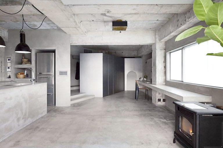 Nielen pre industriálny štýl: Pohľadový betón v domácnosti