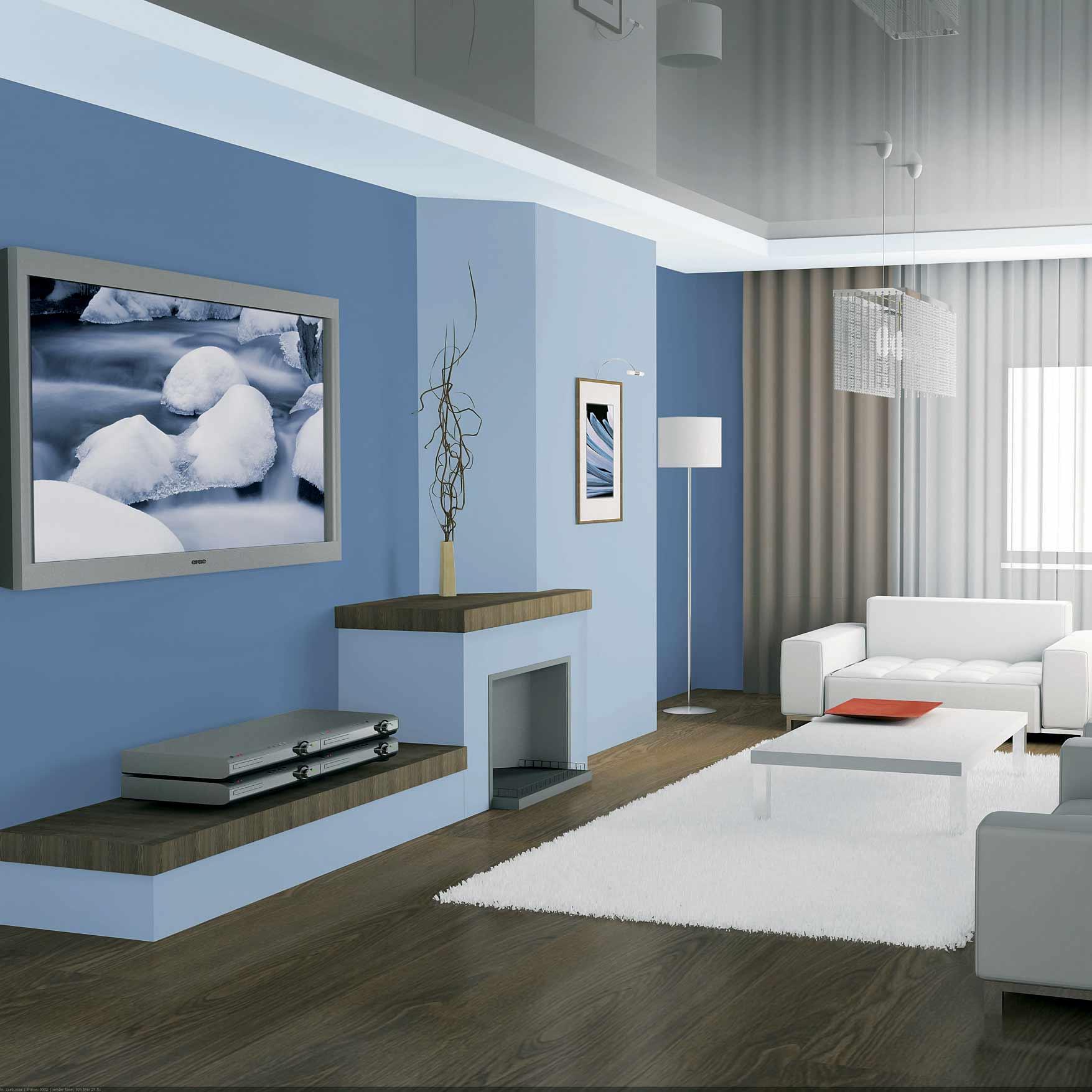 Inšpirácia: biela◦drevo◦farby◦helios◦hnedá◦koža◦modrá◦obývacia izba