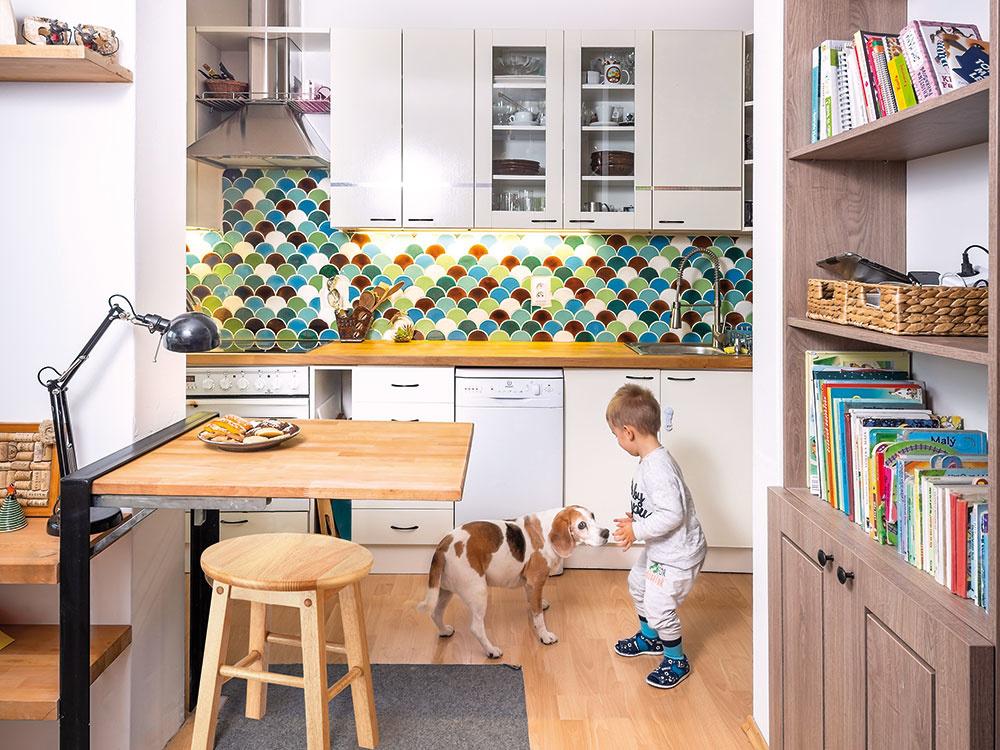 Ako si vytvoriť z kuchyne originálny priestor pomocou kachličiek