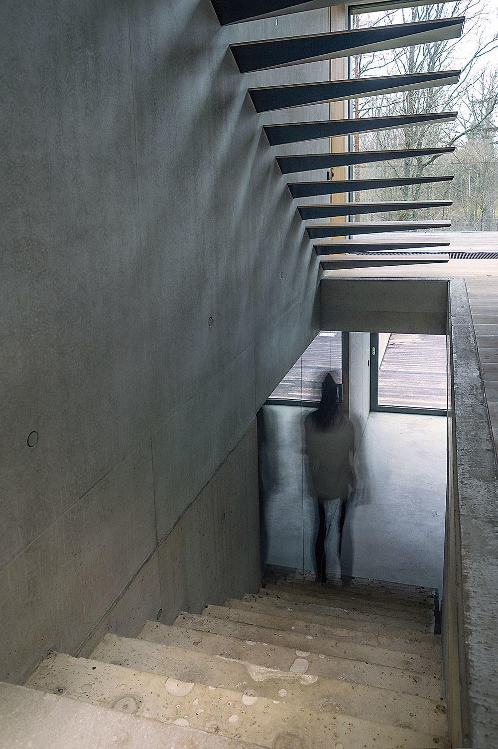 Neobyčajný betón. Priznať betónový povrch zvnútra izvonku umožňuje dvojvrstvová vystužená betónová konštrukcia so sofistikovanou izoláciou uprostred.