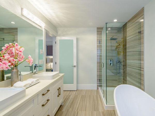 Vďaka úveru na rekonštrukciu sa môže vaša kúpeľňa zmeniť na domáce spa.