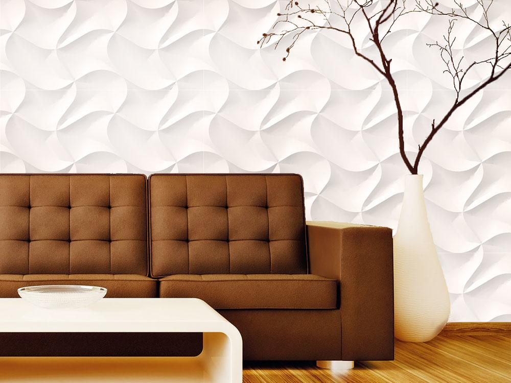 Novým trendom, ako si ozdobiť stenu, sú aj nástenné panely. Dajú sa použiť kdekoľvek, na stenu aj strop, môžete si ich natrieť farbou či nasvietiť. Panely sú vyrobené z bambusovej vlákniny alebo prírodného sadrového kompozitu, a teda sú priateľské k životnému prostrediu. Ich nízka povrchová vodivosť zabraňuje statickému náboju, vďaka čomu nepriťahujú žiadny prach a sú vhodné aj pre alergikov.