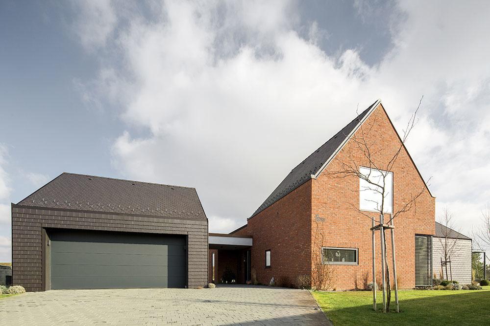 Nekonvenčný dom pod Zoborom vystavaný zo štyroch celkov
