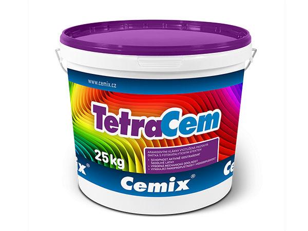 Nová omietka TetraCem od firmy Cemix