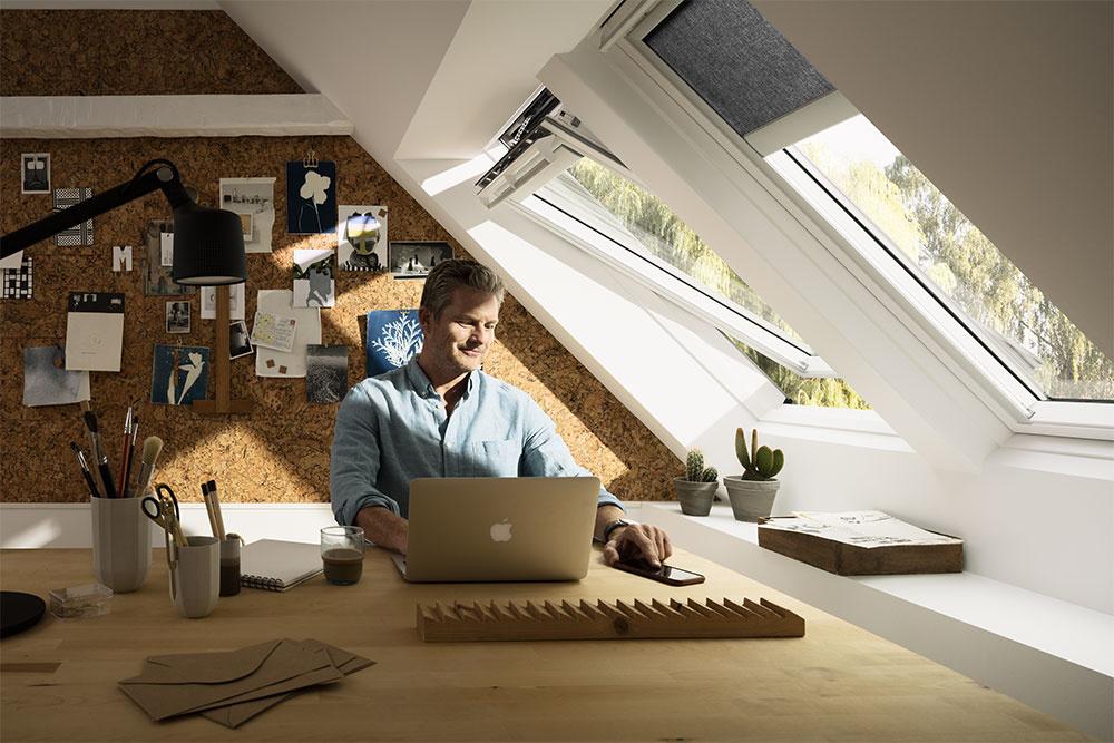 Zdravá domácnosť vďaka strešným oknám