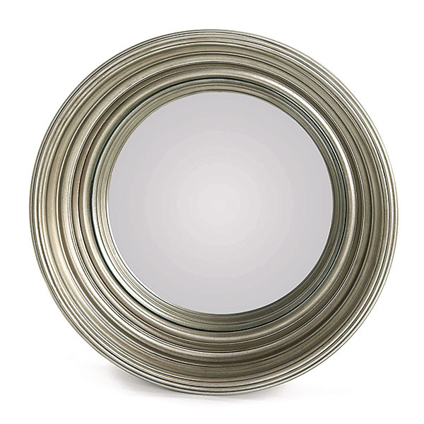 Zrkadlo vstriebornej farbe, akrylonitrilbutadiénstyrén, sklo, priemer 36 cm, 45,99 €, www.zarahome.com/sk