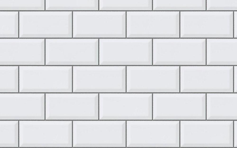 Minimalistický obklad sfazetou Metro od španielskeho výrobcu Apegrupo, 10×20cm, 22,82 €/m2, www.obkladyvilimek.cz