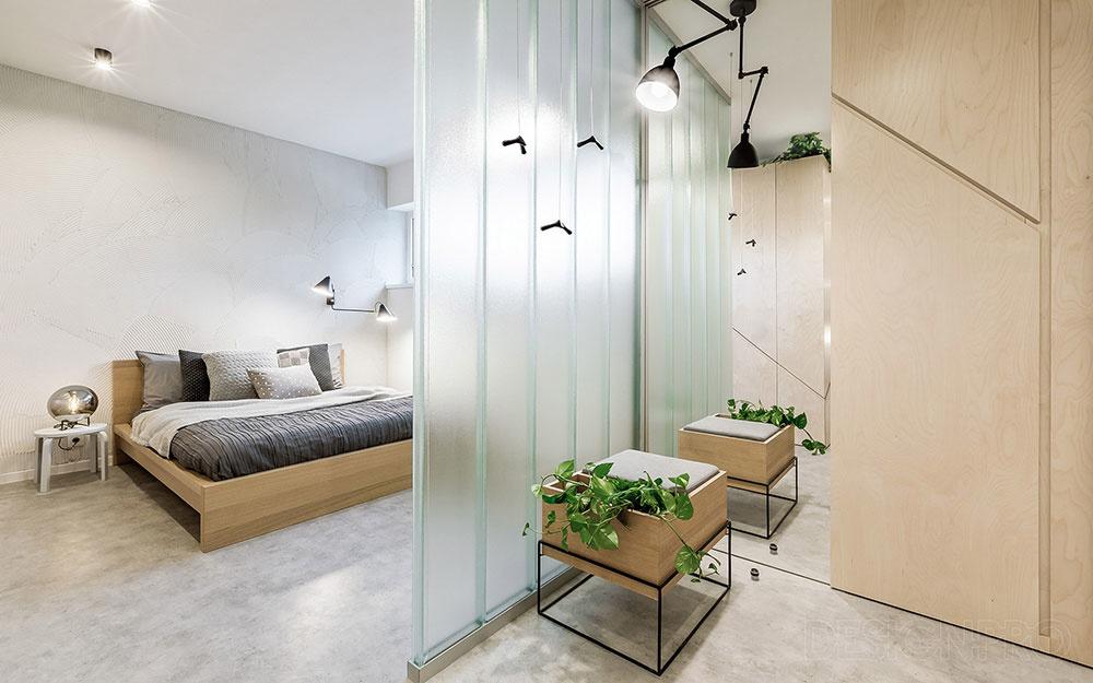 Tmavý byt po dokonalej premene: Denné svetlo dostali do všetkých kútov