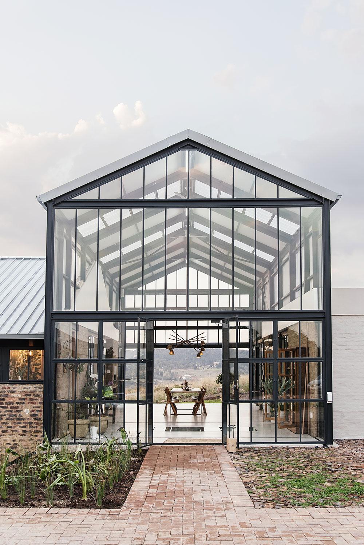 Novým centrom domu sa stala veľká zimná záhrada