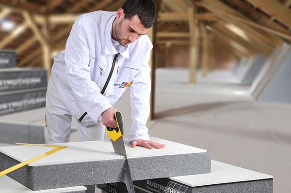 Austrotherm GrEPS Kombi – jednoduché riešenie pre zateplenie podlahy podkrovia