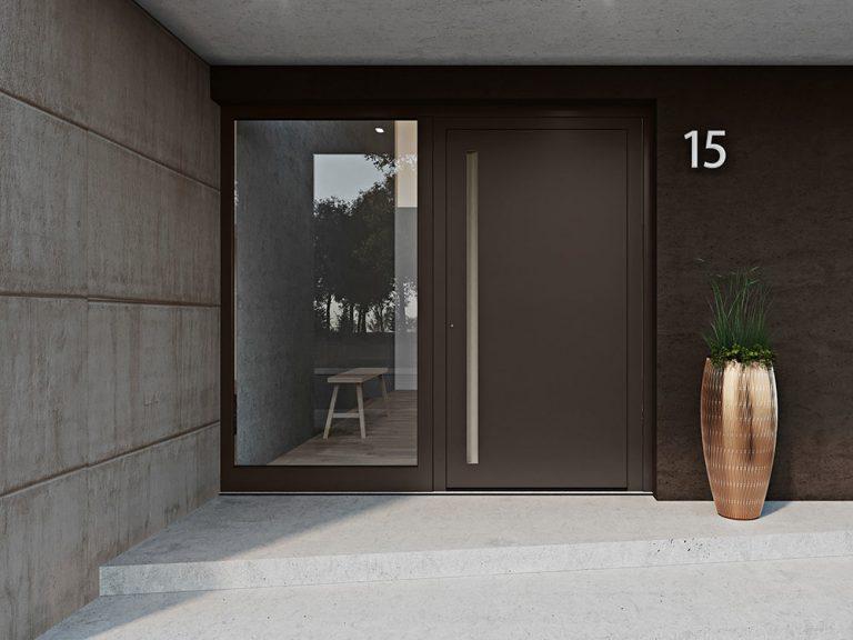 Zažite jedinečnú harmóniu farieb s vchodovými dverami heroal Les Couleurs® Le Corbusier