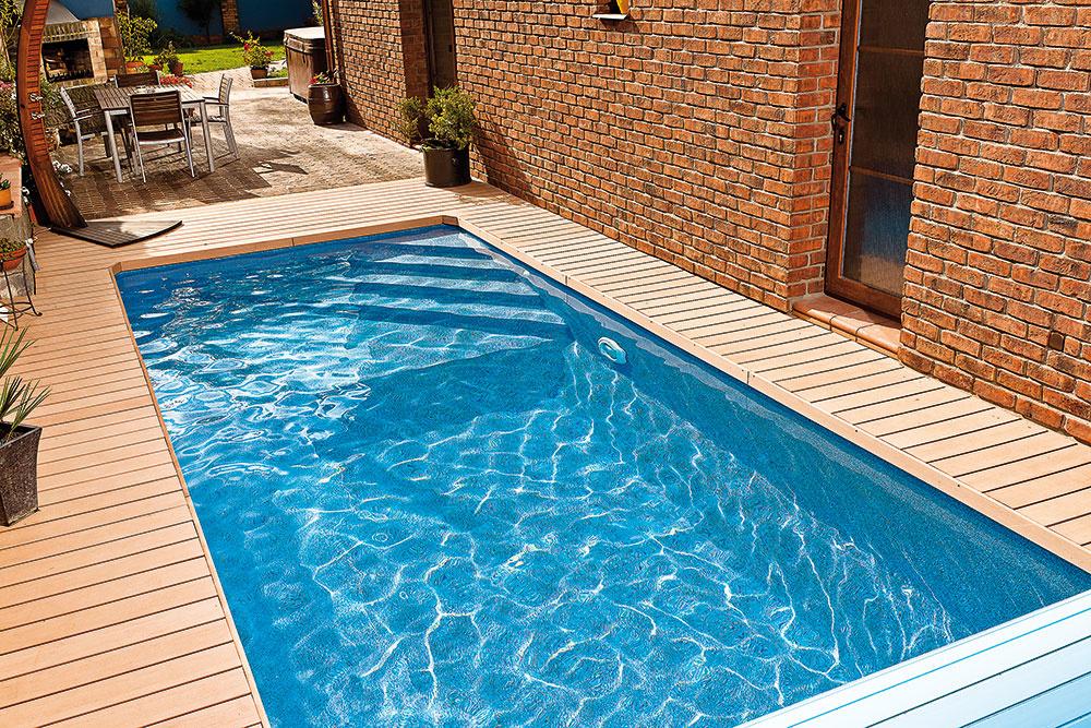 Dizajnové kompozitné bazény radu Métropole od Mountfieldu zaujmú už na prvý pohľad svojim francúzskym šarmom atvarmi. Môžete si slobodne zvoliť dĺžku aj šírku bazéna atiež jeho hĺbku aviacúrovňový profil dna.