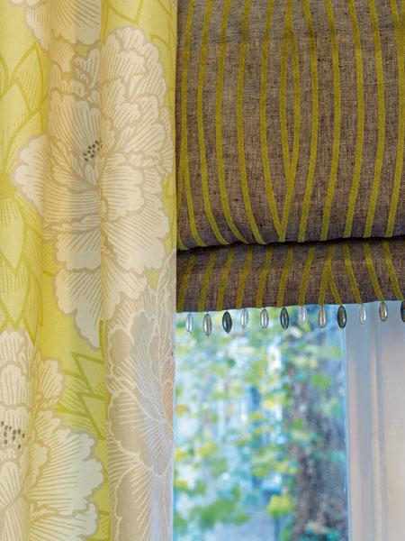 Škola interiérového dizajnu X - Textilné dekorácie okien