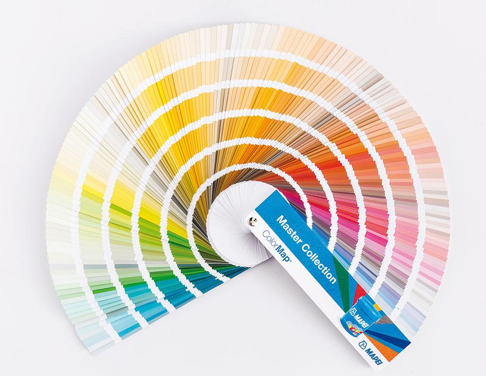 Kolekcia s tisíckou farieb