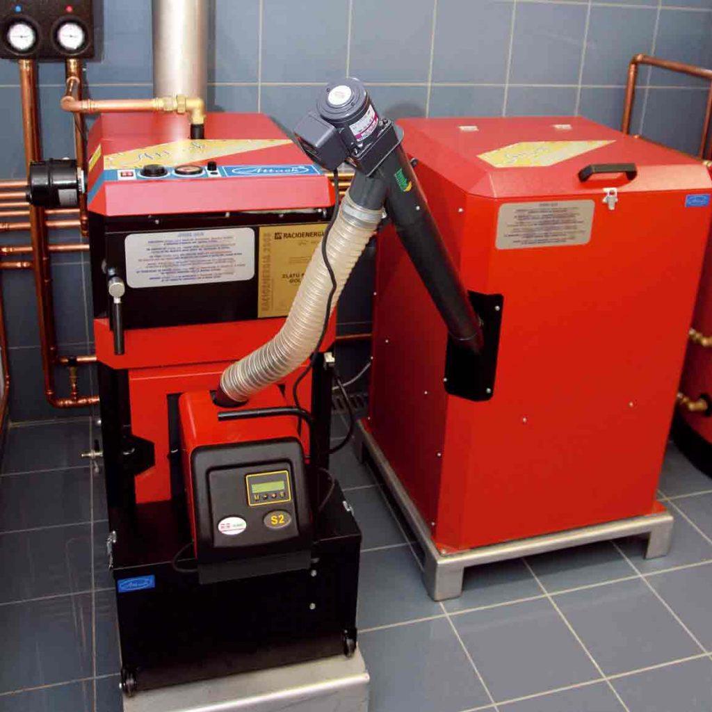 Kotle na spaľovanie biomasy