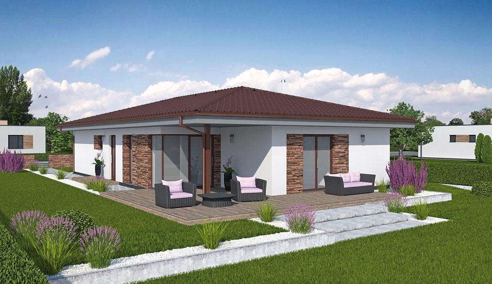 Projekt rodinného domu LAGUNA 418