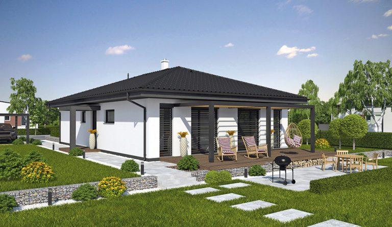 Projekt rodinného domu LAGUNA 448