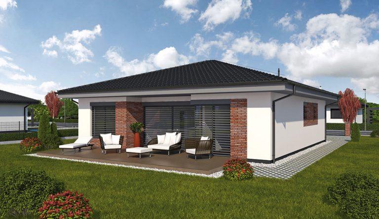 Projekt rodinného domu LAGUNA 44N