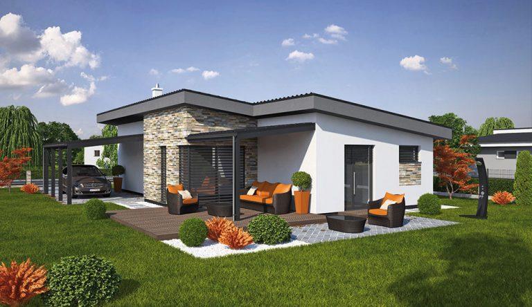 Projekt rodinného domu LAGUNA 46N