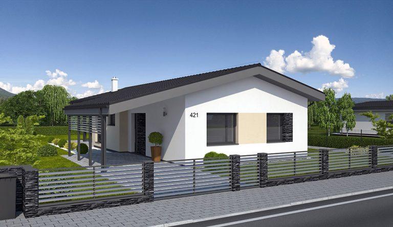 Projekt rodinného domu LAGUNA 421