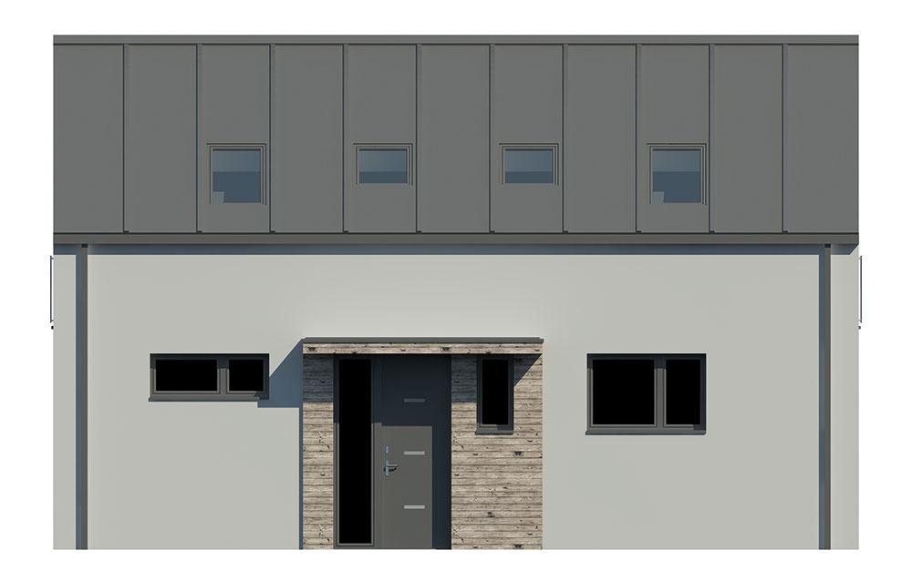 Projekt rodinného domu Blanka 54