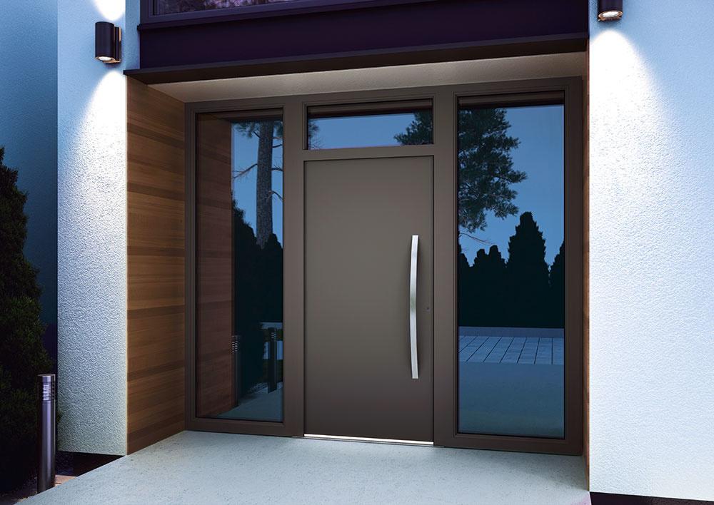 Individuálne vchodové dvere Internorm