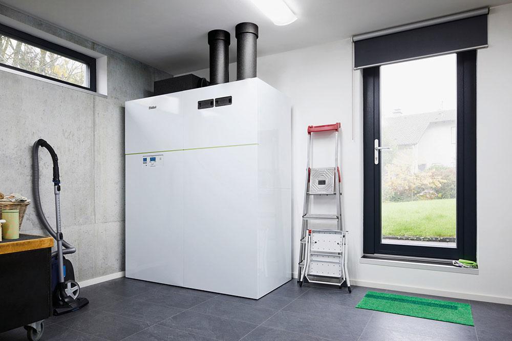 All-inclusive riešenie pre teplo, teplú vodu a vetranie