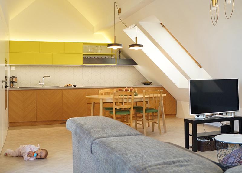 Rekonštrukcia mezonetu: Čo sa stane, keď prevrátite byt hore nohami?