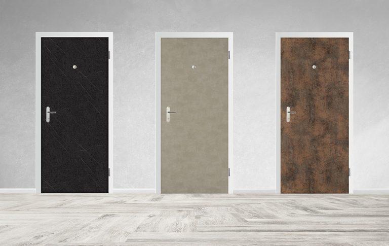 SHERLOCK® ponúka ako prvý na Slovensku bezpečnostné dvere s extrémne odolným povrchom FunderMax