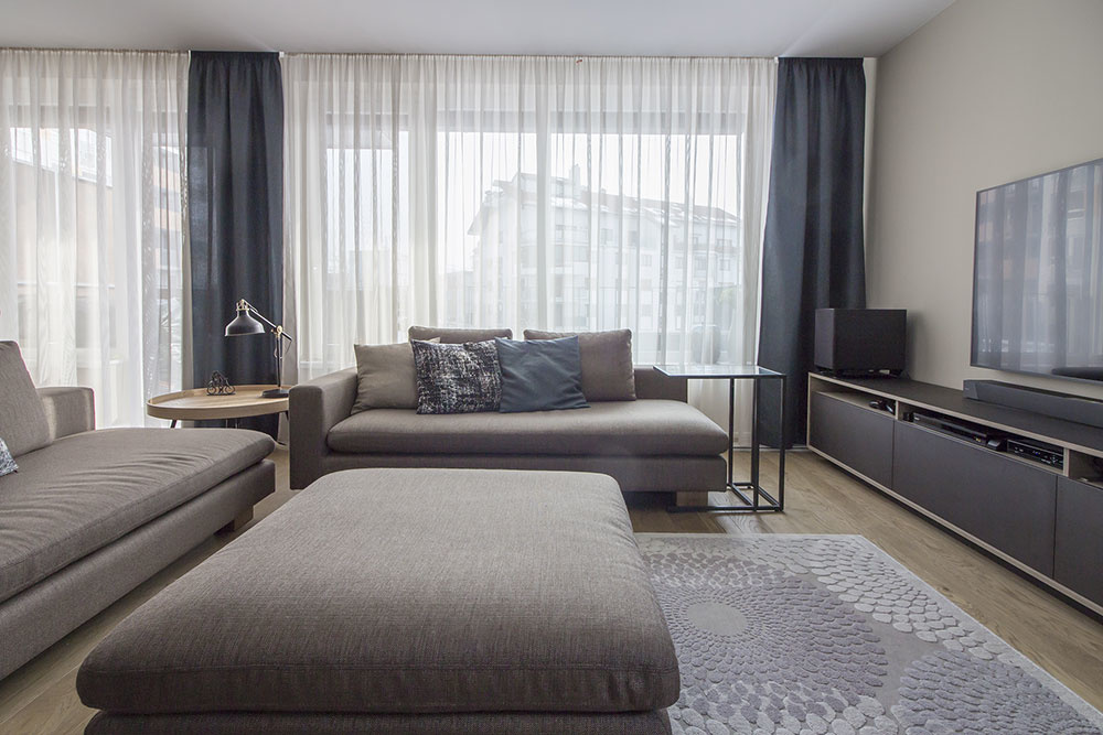 Komfortný byt s dôrazom na kvalitné materiály a praktické riešenia pre rodinný život