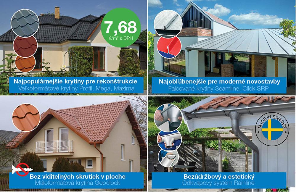 Švédska strecha za výnimočnú cenu