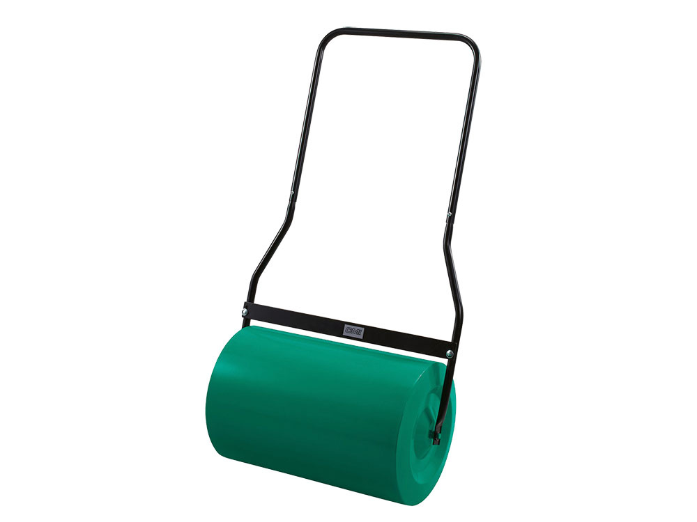 Záhradný valec je dobrým pomocníkom na valcovanie záhradných plôch ačerstvo zasiateho trávneho osiva. Valec CMI C – W – 49spracovným záberom 49 cm má práškovú úpravu povrchu aje vyrobený zpevného kovu. Je možné ho naplniť vodou alebo pieskom. www.obi.sk