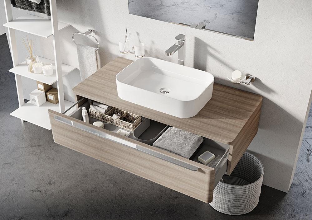 Nová univerzálna skrinka pod umývadlá na dosku od značky RAVAK